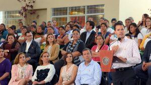 Basta ya de violencia con la mujer: Enrique Peña Nieto