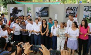 Inauguran Gerardo Gaudiano y Ximena Martel el 1er Festival del Bagre Armado