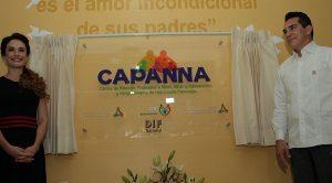 Inauguran centro de atención Psicosocial a niñas, niños y adolescentes en Campeche