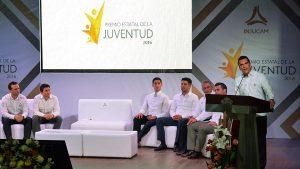 Exhorta Alejandro Moreno Cárdenas a jóvenes integrarse a la construcción del Campeche Moderno