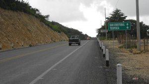Avanza la modernización de la carretera San Cristóbal-Comitán
