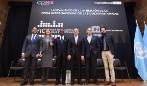 Anuncia CDMX novena edición de la Feria Internacional de las Culturas Amigas 2017