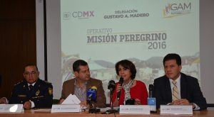 Garantiza Gobierno de la CDMX seguridad a peregrinos