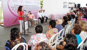 """Campaña """"Para sentirme mejor"""" beneficio a 14 mujeres del cáncer en Campeche"""