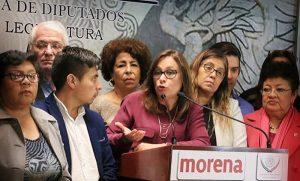 Legisladores de MORENA rechazan Bono Navideño