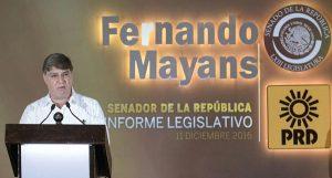 Un México más solidario, seguro y justo, objetivo del trabajo legislativo: Fernando Mayans Canabal