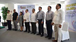 Presentan en el Foro Estatal del Agua, las conclusiones de los Foros Regionales en Tabasco