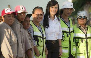 Trabajamos por un Puerto Morelos más limpio y sustentable: Laura Fernández