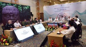 Erradicar los índices delictivos y brindar seguridad en Tabasco: Osorio Chong