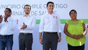 Anuncia Remberto Estrada histórica inversión para pavimentar toda la región 219