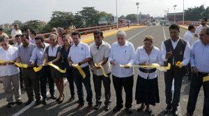 Atestigua Gaudiano inauguración del puente Tierra Colorada I