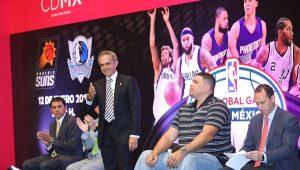 Por primera vez, dos juegos NBA de temporada regular en la CDMX