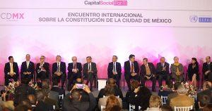 Encuentro Internacional sobre Constitución de CDMX, enriquece debate sobre consolidación política
