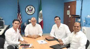 Cancún refuerza sus lazos con el turismo Estadounidense: Remberto Estrada