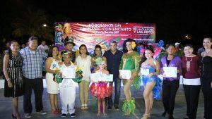 Eligen a reyes del carnaval 2017 de Puerto Morelos