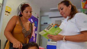La Cartilla Nacional de Salud garantiza el control y tratamiento de las enfermedades en Quintana Roo