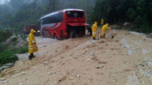 Protección Civil brinda atención a población afectada por lluvias en Chiapas