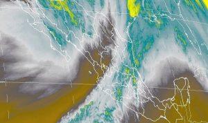 Se prevén lluvias de fuertes a muy fuertes y posibles nevadas en el noroeste de México