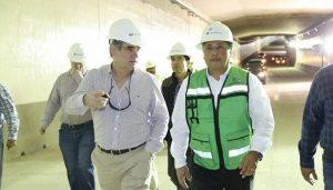 Avances del Túnel Sumergido de Coatzacoalcos; pronta su conclusión: SIOP