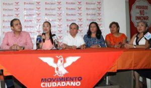 Seguiremos creciendo en Movimiento Ciudadano: Fanny Vargas Vázquez