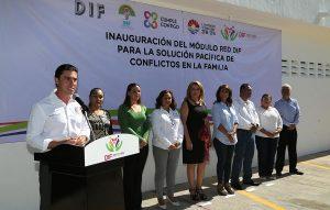 Inaugura Remberto Estrada módulo de atención Red DIF para beneficio de las familias
