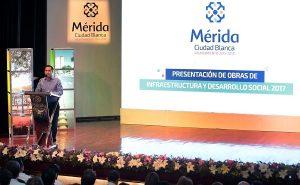 Histórica inversión de mil millones, en obra pública y desarrollo social de Mérida: Mauricio Vila