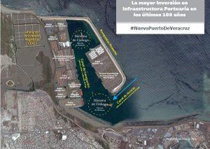 En el nuevo Puerto de Veracruz, la mayor inversión en los últimos 100 años