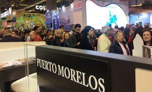 Exitosa participación de Puerto Morelos, pueblo con encanto, en la FITUR 2017