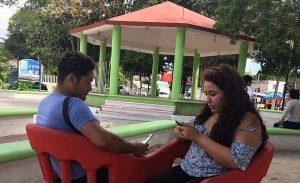 Internet gratuito genera múltiples beneficios, coinciden ciudadanos de Puerto Morelos