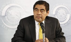 Ningún partido tiene la cara para encabezar protestas: Miguel Barbosa Huerta