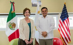 Yucatán y Estados Unidos van por alianza estratégica en innovación