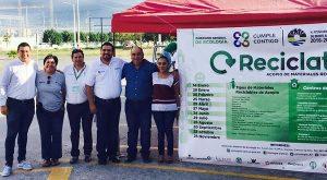 """Realizan segunda jornada exitosa del """"Reciclatón 2017"""", con apertura de dos centros de acopio más"""