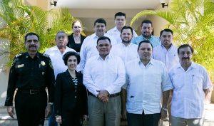 Instalado comité que vigilará recursos destinados a Escudo Yucatán
