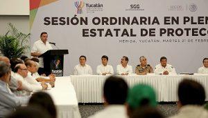 Llamado a reforzar tareas de protección civil en Yucatán