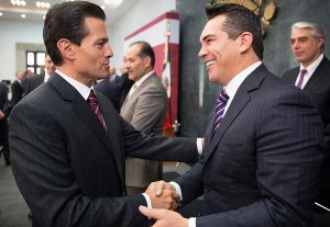 Asiste el gobernador de Campeche AMC a reunión de la CONAGO y el Presidente EPN