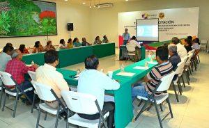 Amplia participación de los miembros de comités comunitarios en taller de Protección Civil Centro