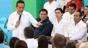 Asiste Remberto Estrada a presentación del Plan Estatal de Desarrollo Quintana Roo 2018-2022