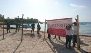 Prioritario recuperar la biodiversidad en bahía de Akumal, Quintana Roo: PROFEPA