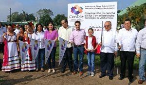 Estudiantes del Tecnológico de Villahermosa contarán con cancha de fútbol rápido: Gaudiano