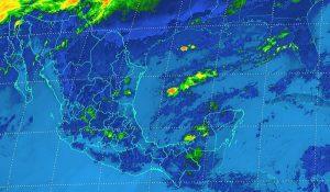 Se prevén tormentas fuertes en zonas de Veracruz, Puebla y Chiapas en las próximas horas