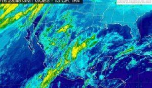 Pronostican noche de tormentas intensas en Veracruz, Oaxaca, Tabasco y Chiapas