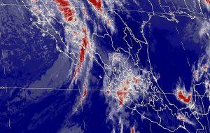 Lluvias y vientos fuertes se prevén en el noroeste y occidente de México