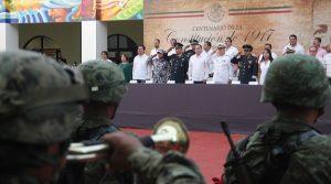 Conmemora Ayuntamiento de Coatzacoalcos el Centenario de la Constitución Política de México