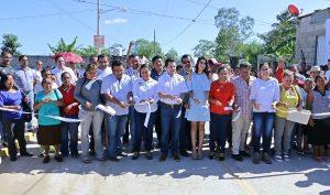 En la colonia Francisco Villa tres calles ahora son de concreto hidráulico; se invirtieron 7 MDP