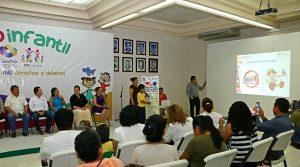 Exponen 10 menores sus derechos y deberes en el 1er Foro Infantil, organizado por Centro