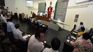 Informan al Pleno sobre la comparecencia de titulares de Finanzas y de Seguridad Pública