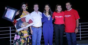 Jenny Paola recibió su nombramiento como embajadora; cuenta con todo el apoyo de Centro