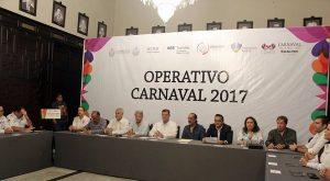 Listo operativo del Carnaval Veracruz 2017