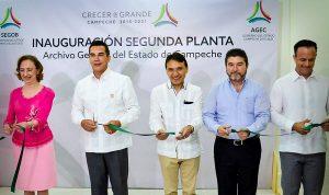 Inaugura Alejandro Moreno Cárdenas, Encuentro de Archivos del Poder Ejecutivo