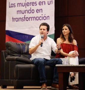 Gratificante trabajar con mujeres y en mi administración seguirán aportando: Gaudiano